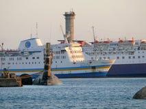 HURGHADA, ЕГИПЕТ - 15-ОЕ НОЯБРЯ 2008: Воинская подводная лодка в s Стоковое Фото