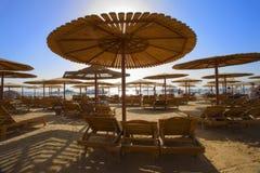 hurghada пляжа Стоковые Изображения