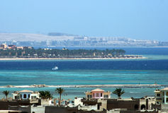 Hurghada bay Stock Images