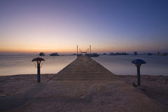 Hurghada Beach Royalty Free Stock Photography