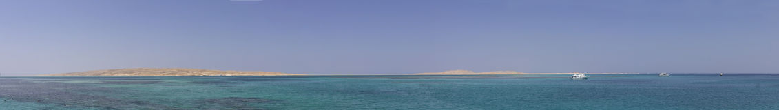 Hurghada beach islands Stock Photography