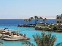 Hurghada in Egipt. Sunny Days El Palacio in Hurghada Royalty Free Stock Image