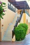 Hurghada, Egipt, Wrzesień 2015: - Plenerowi schodki drugi Obraz Stock