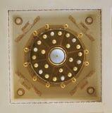 Hurghada Egipto 27 de diciembre de 2014: L?mpara en la mezquita de Hurghada fotografía de archivo libre de regalías