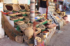 Hurghada - egypt. Spices sold in centre of hurghada Stock Image