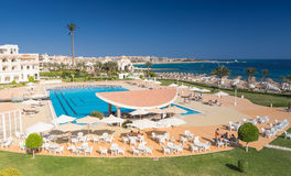 Hurghada, Egypt - FEBRUARY 2015: Five star Old Palace Hotel Royalty Free Stock Photography