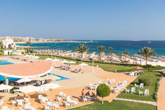 Hurghada, Egypt - FEBRUARY 2015: Five star Old Palace Hotel Stock Images