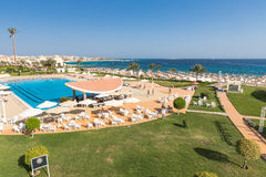Hurghada, Egypt - FEBRUARY 2015: Five star Old Palace Hotel Stock Photo