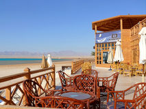 HURGHADA, EGYPT - NOVEMBER 14, 2008: The hotel. Royalty Free Stock Photography