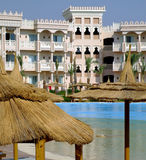 Hurghada hotel 14. An image of a luxury holiday resort in Hurghada, Egypt Royalty Free Stock Photography