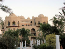 Hurghada red Sea resort. Beautiful architecture  in Egypt Royalty Free Stock Images