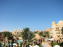 Hurghada red Sea resort. Beautiful architecture  in Egypt Stock Image