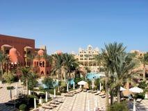 Hurghada semesterort Royaltyfri Foto