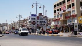 Hurghada streets stock video footage