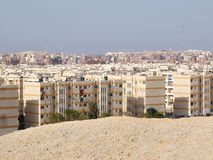 Hurghada Town. Scenic view of city of Hurghada, Egypt, Africa Stock Image
