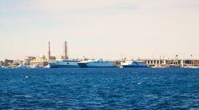 Hurghada van Rode overzees. Egypte Stock Fotografie