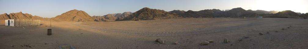 Hurghada Wüstenberge Lizenzfreies Stockfoto