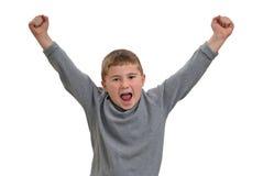 Hurlement d'enfant Photographie stock libre de droits