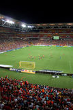 Hurlement de Brisbane au stade de Suncorp Photographie stock libre de droits