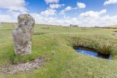 Hurlers op bodmin legt in Cornwall Engeland het UK vast Stock Foto's
