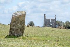 Hurlers op bodmin legt in Cornwall Engeland het UK vast Royalty-vrije Stock Foto