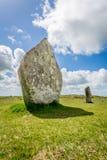 Hurlers op bodmin legt in Cornwall Engeland het UK vast royalty-vrije stock foto's