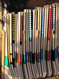 Hurleys for sale Stock Photos