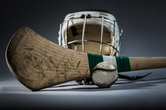 Hurling Equipment in Studio Stock Photography