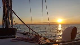 Huron λιμνών ναυσιπλοΐα Στοκ φωτογραφίες με δικαίωμα ελεύθερης χρήσης