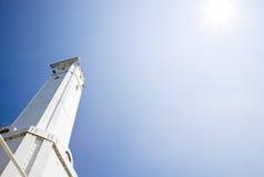 Huron Harbor Lighthouse. Ohio, USA Stock Photos