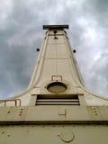 Huron Lighthouse. Huron Ohio Lighthouse - on Lake Erie stock image