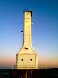 Huron Ohio Lighthouse. On Lake Erie Royalty Free Stock Photography