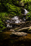 Hurone fällt - Ricketts Glen State Park - Pennsylvania stockbild