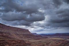 Hurrah Pass Trail Moab Utah Stock Photo