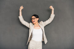Hurray! Royalty Free Stock Photo