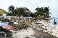 Hurrican in san pedro Royalty Free Stock Image