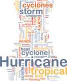 Hurrican weather background concept Royalty Free Stock Photo