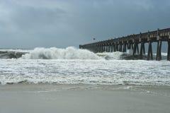 Hurricane! stock image