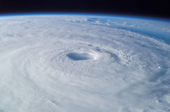 Hurricane. A Hurricane on Earth viewed from space