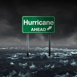 Hurricane Ahead vector illustration