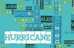 Hurricane Alex Royalty Free Stock Image