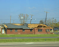 Hurricane Damage Stock Photography