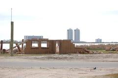 Hurricane Damage Royalty Free Stock Images