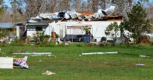Free Hurricane Damaged Home Royalty Free Stock Photography - 130126687