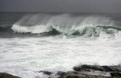 Hurricane Earl Waves Stock Photos