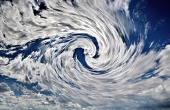 A Hurricane on Earth Royalty Free Stock Photo