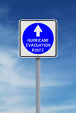 Hurricane Evacuation Route Stock Photography