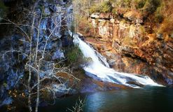 Hurricane Falls at Tallulah Gorge Royalty Free Stock Photo