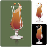 Hurricane glass Stock Image