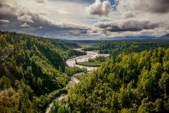 Hurricane Gulch, Alaska Royalty Free Stock Image